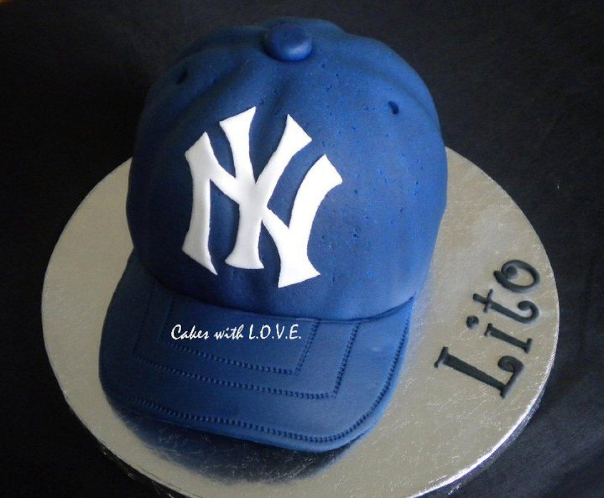 Yankees Cap Cake Cake Theater