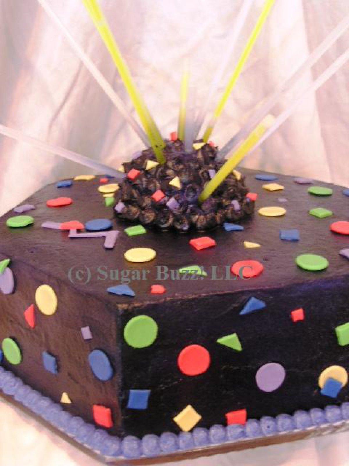 Laser Tag Cake Cake Theater